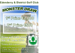 Edenderry Golf Club Monster Draw