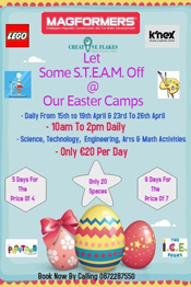 Easter S.T.E.A.M Camps