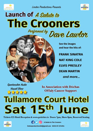 Launch of a Salute to The Crooners