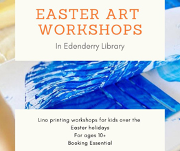 Lino Printing for Kids – Easter Art Workshops
