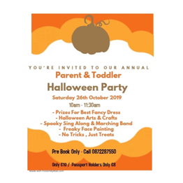 Parent & Toddler Halloween Party