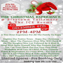The Christmas Experience @ Playtown Tullamore & The ICE Rooms