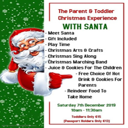 The Parent & Toddler Christmas Experience at Playtown Tullamore