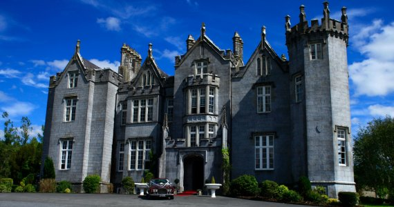 Kinnitty Castle Outside