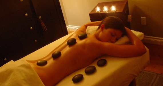 Clara House Spa hot stones