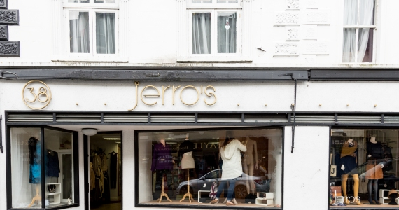 Jerros Birr outside