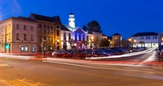 Tullamore Town by Night