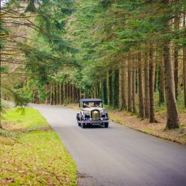 Kinnitty Castle Wedding Car