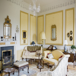 Gloster House Yellow Drawing Room