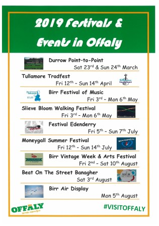 Festivals and Events in Offaly 3